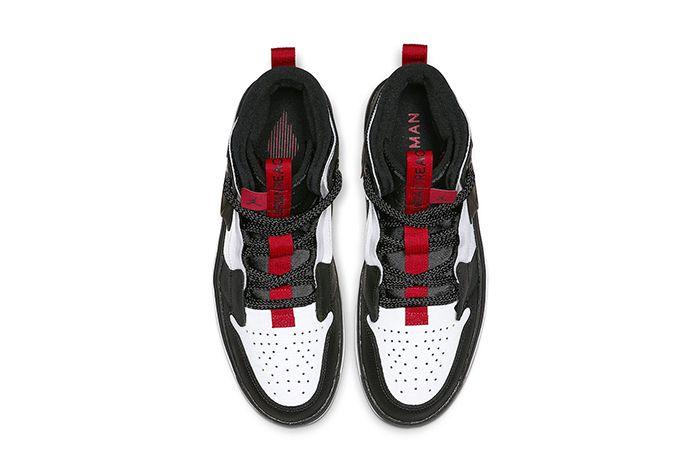 Air Jordan 1 React White Black Red Ar5321 016 Release Date Top Down