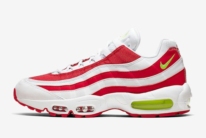 Nike Air Max 95 Marine Day University Red Cq3644 171 Lateral