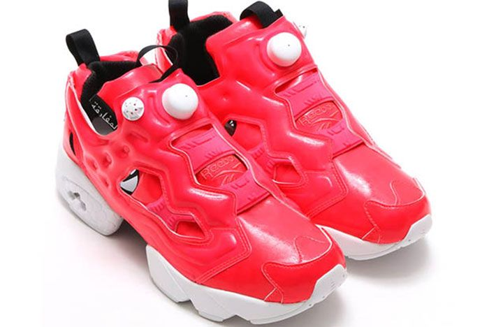 Reebok Insta Pump Fury Gloss Cherry Red 3