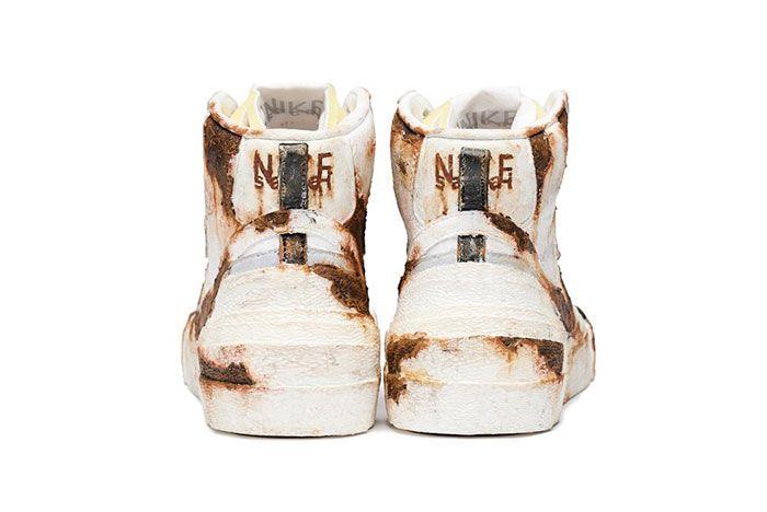 Sacai Nike Blazer Mid Rusted Heel 2