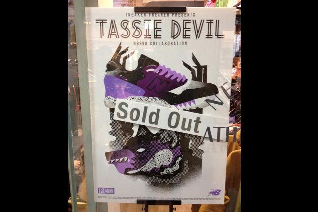 Sneaker Freaker X New Balance 998 Tassie Devil Launch 1