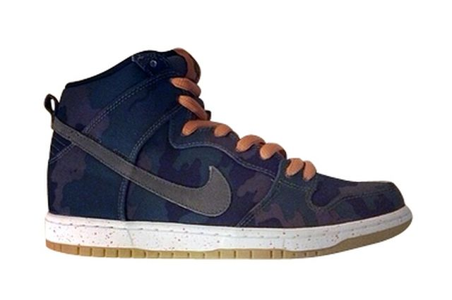 Nike Sb Dunk High Black Olive Khaki 01