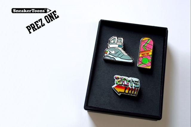 Sneakertoons Prez One Jumping Gigawatts Pin Pack 3