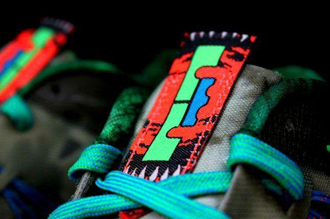 Nike Lebron X Low Tarp Green 4