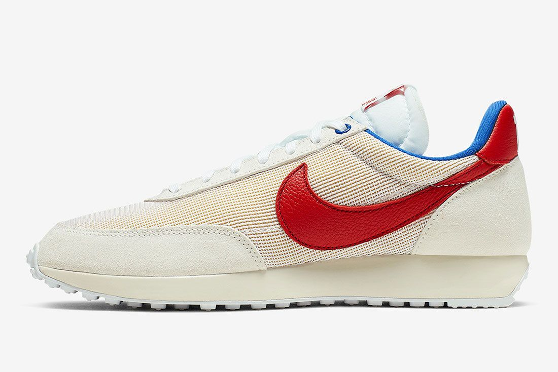 Stranger Things Nike Tailwind White Og Collection Ck1905 100 Lateral Sdie Shot