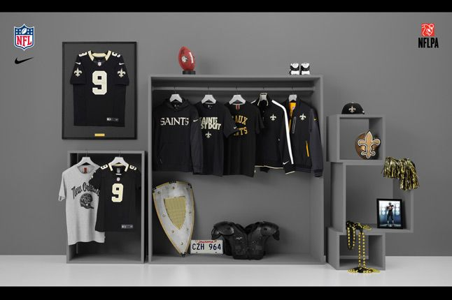 Nike Nfl Fanwear No Saints 2012 1