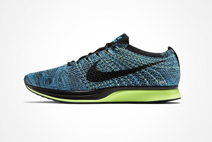 Nike Reissues The Blue Gecko Flyknit Racer A