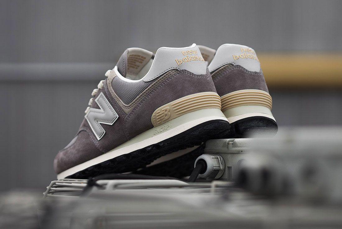 New Balance 574 Grey Heel