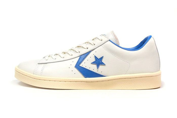 Converse Pro Leather Low 76 Ox Limited Edition White Blue 4