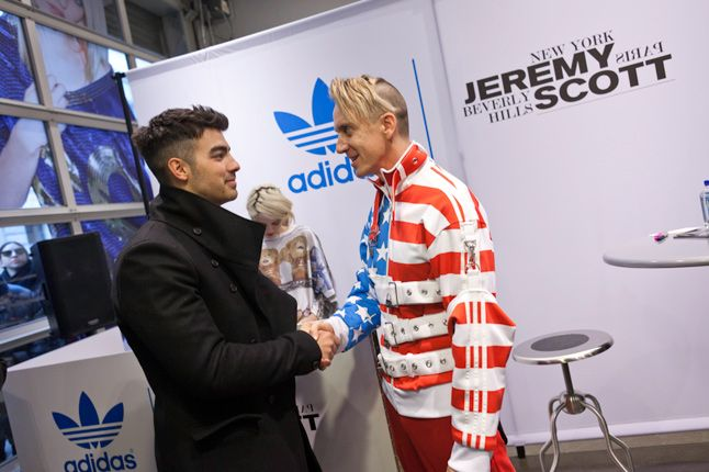 Jeremy Scott In Store Adidas Originals Soho New York 45 1