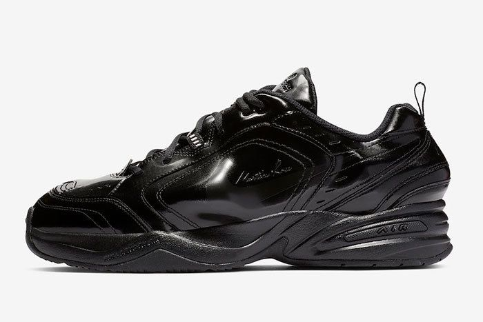 Nike Air Monarch Martine Rose Black At3147 001 Release Date
