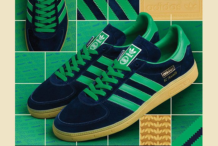 Size Adidas Bc Trainer Navy Green