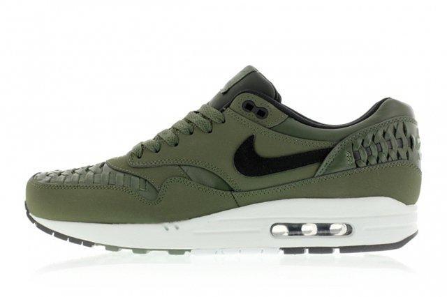 Nike Air Max 1 Woven Carbon Green