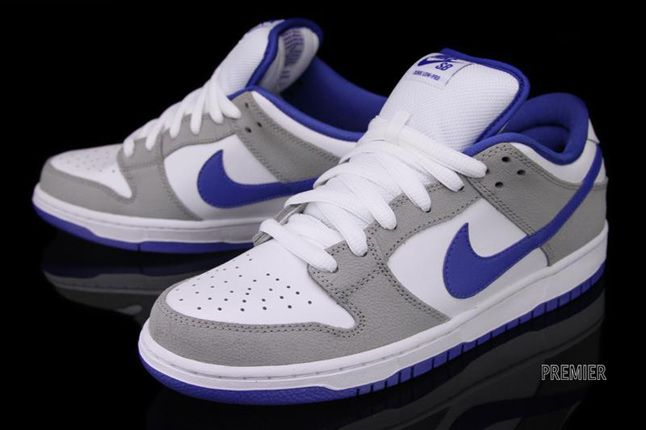 Nike Sb Dunk Low Matte Silver Royal 02 1