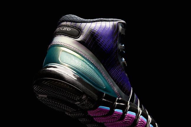 Crazyquick Black Purple Teal Hero Heel Detail 1