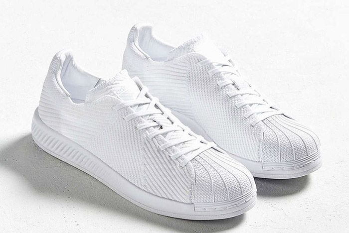Adidas Superstar Bounce Primeknit Triple White 3