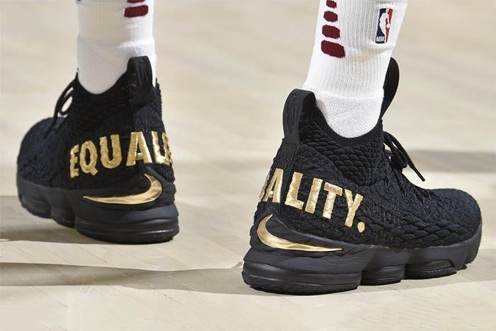 Nike Lebron 15 Equality Sneaker Freaker