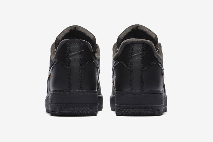 Off White Nike Air Force 1 Low Moma Heel