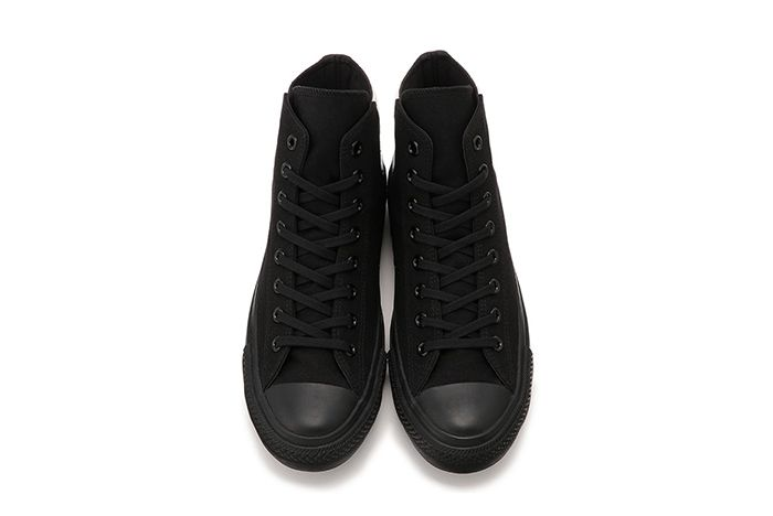 Converse Japan Chuck Taylor Monopanel Hi Black White Top