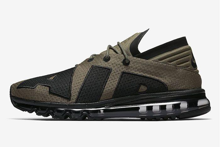 Nike Air Max Flair Medium Olive Black 3