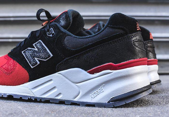 New Balance 999 Black Red Toe 4