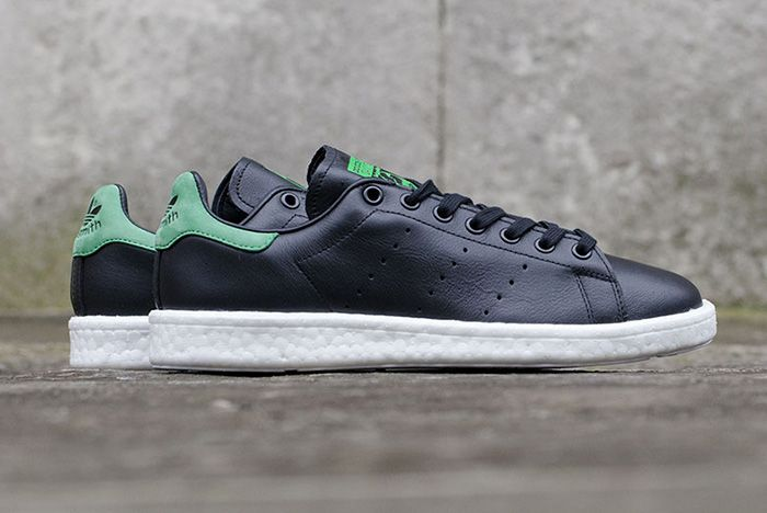 Adidas Originals Stan Smith Boost Black 1