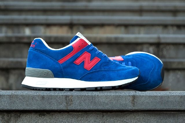 New Balance 576 Wmns Make In Uk Royal Red Hype Dc 3