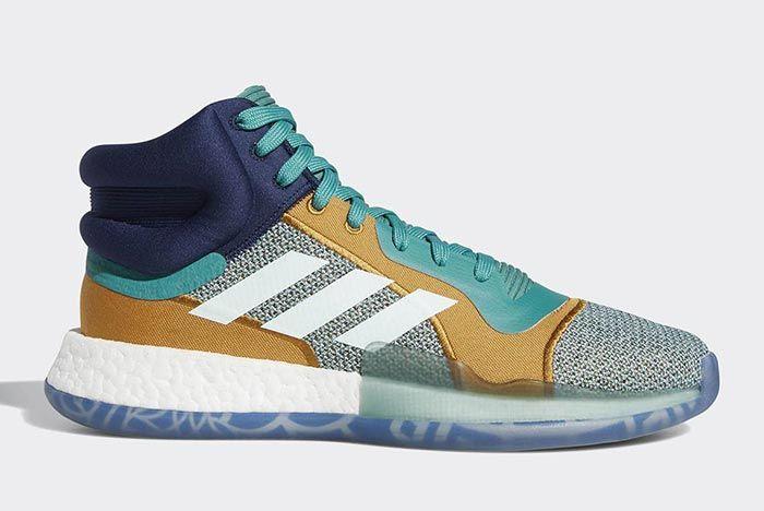 Adidas Marquee Boost Aqua 1
