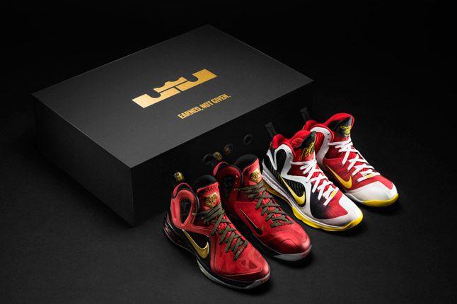 Lbj Earnednotgiven Boxshoes Championship Pack Nike 1