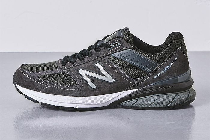 United Arrows New Balance 990V5 Grey Release Date Lateral
