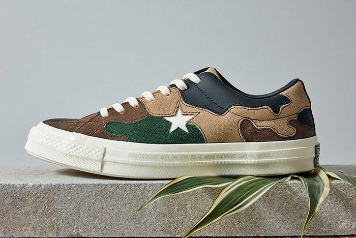 Sneakersnstuff Converse One Star Camo 3