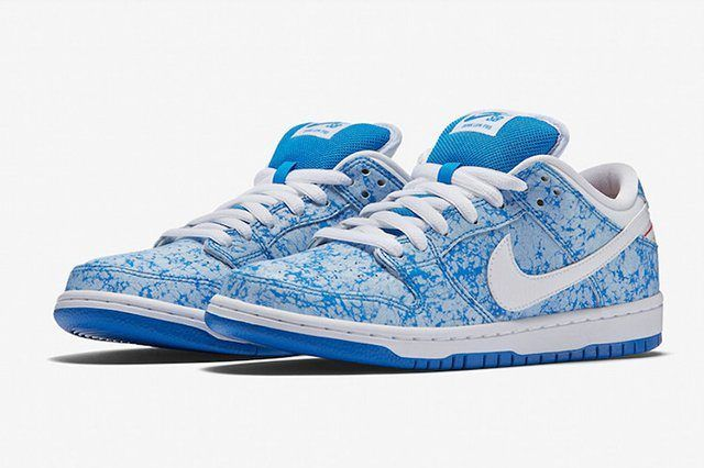 Nike Sb Dunk Low Marble