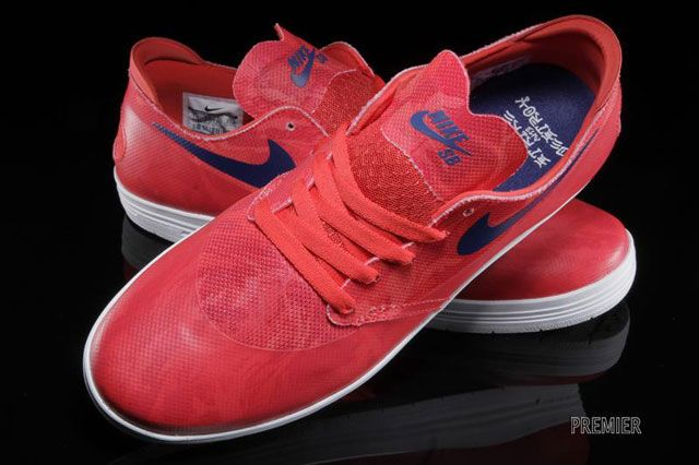 Lunar One Shot World Cup Pack Red Detail