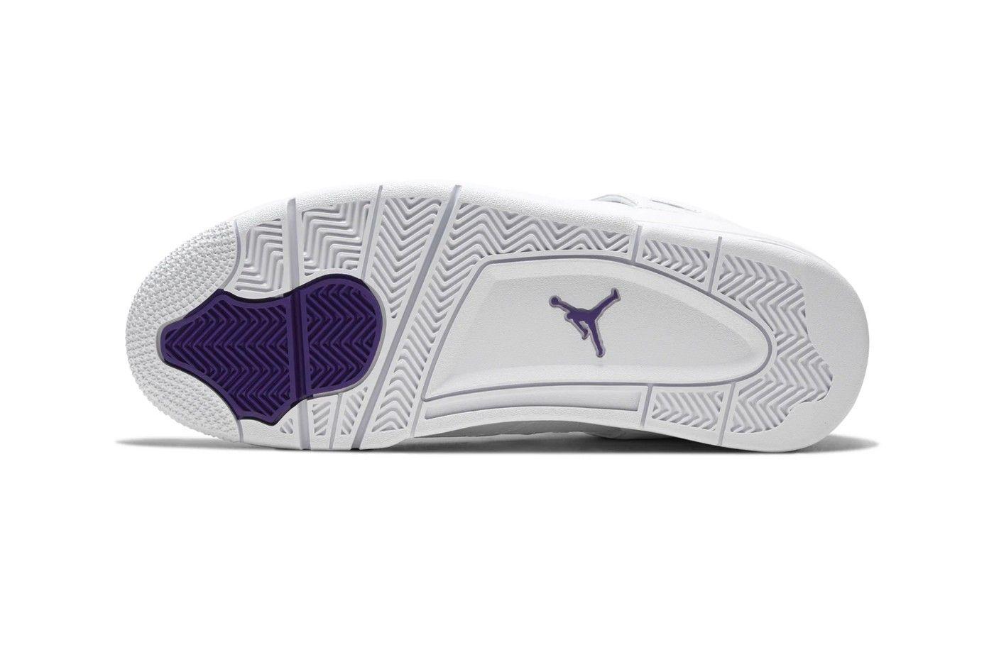 Air Jordan 4 'Metallic Purple'