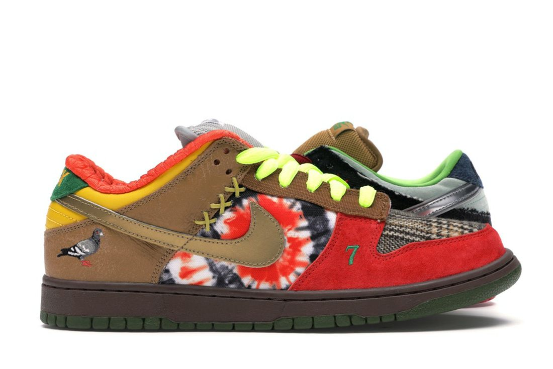 Nike SB Dunk Low What the Dunk 2007 Right