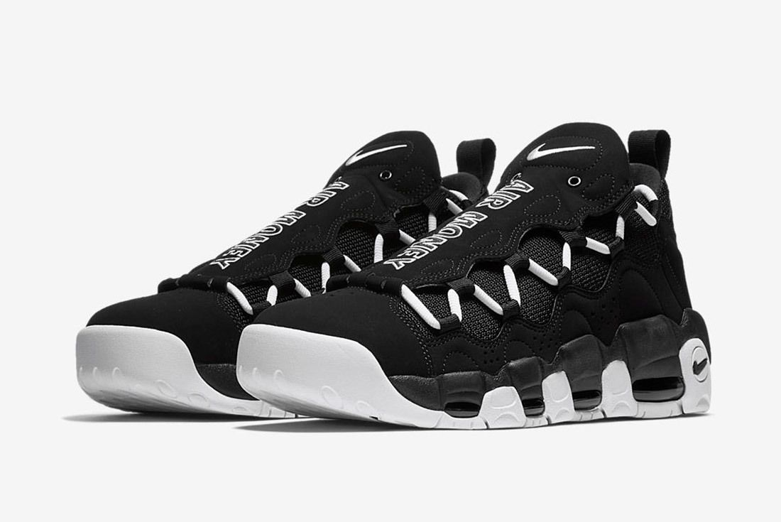 Nike Air More Money Black White 6
