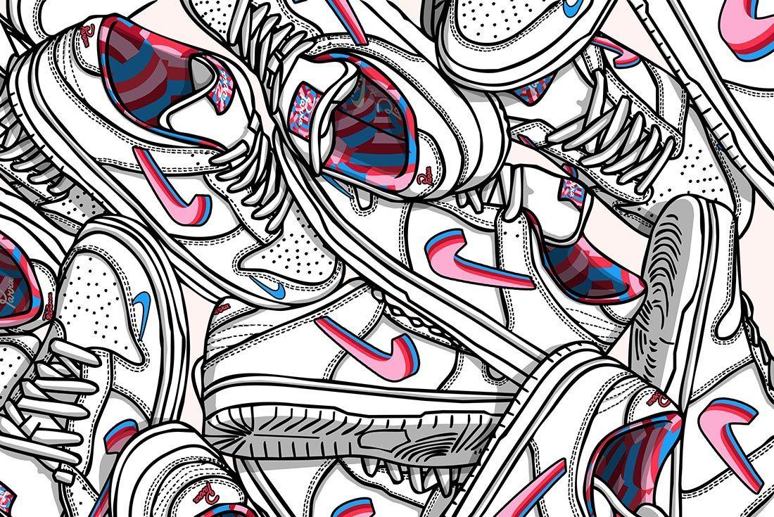 Parra Nike Sb Dunk Low Empire 4