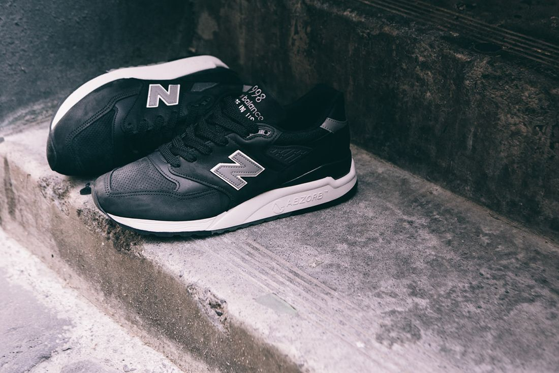 New Balance M998 Dpho Made In Usa Black 4