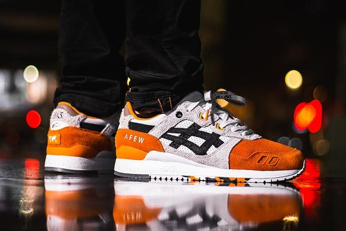 Afew X Beams X Asicstiger Orange Koi On Feet 04