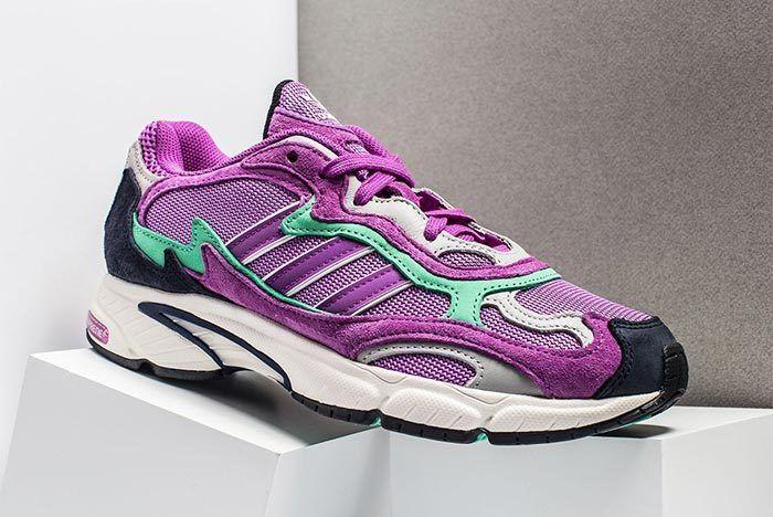 Adidas Temper Run Purple Teal 1