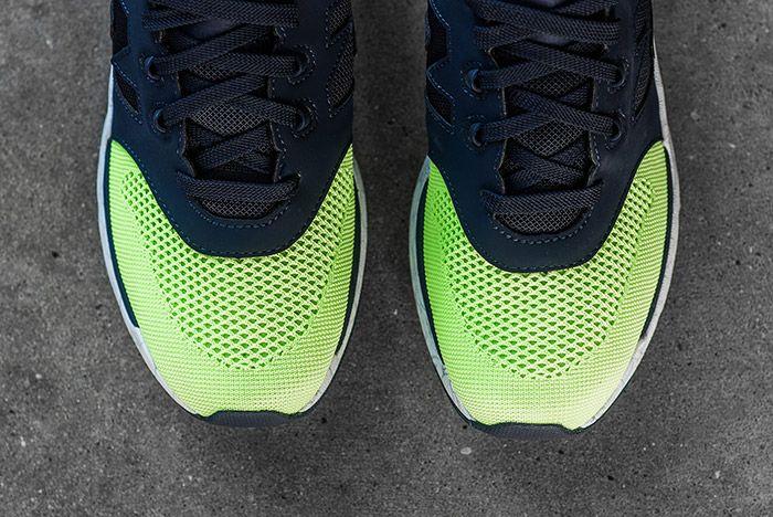 New Balance 009 Navy Lime 2