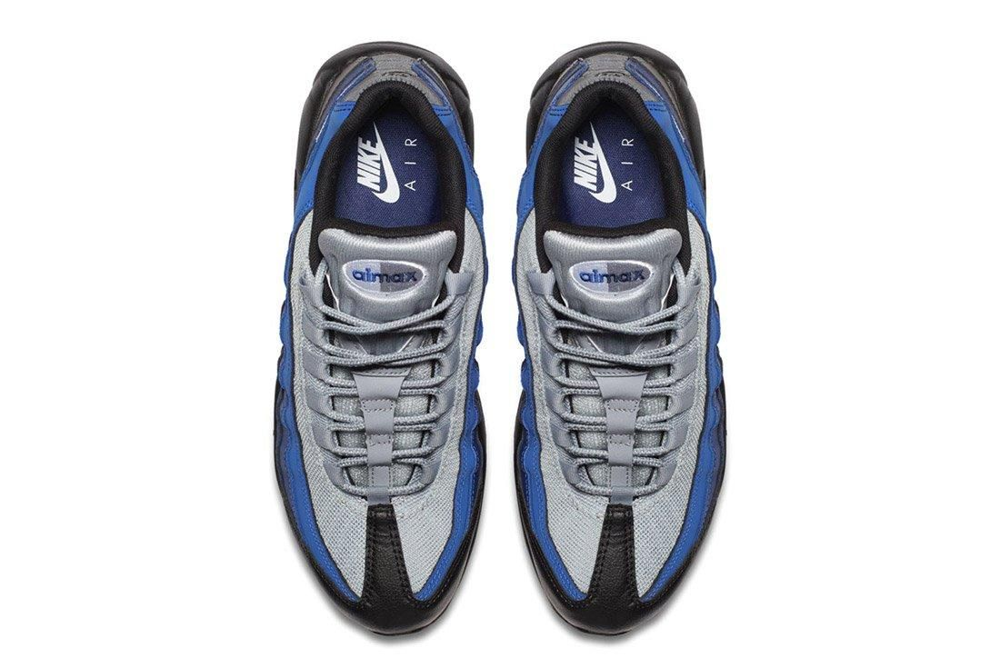 Bike Air Max 95 Essential Black Binary Blue Royal 2