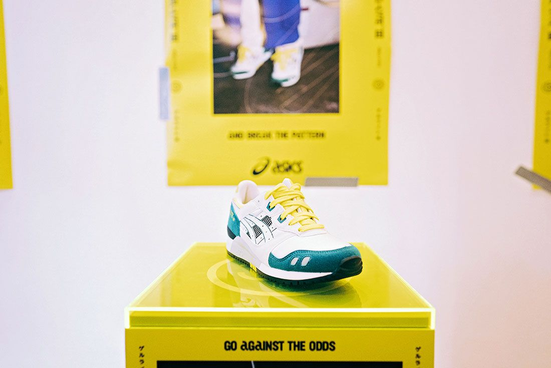 Asics Gel Lyte Iii 30Th Anniversary Sneaker Sketching Masterclass Pop Up
