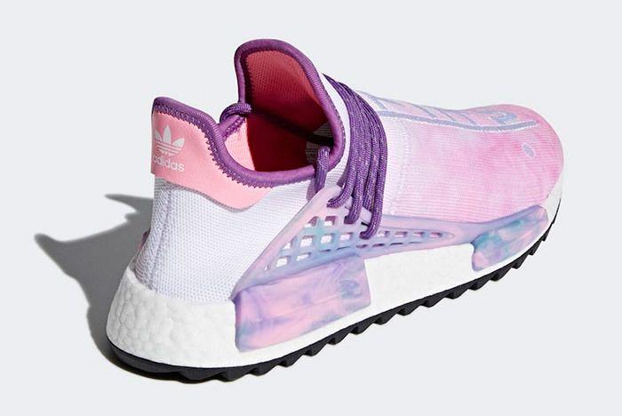 Pharrell X Adidas Nmd Hu Trail Holi Pink Glow 7