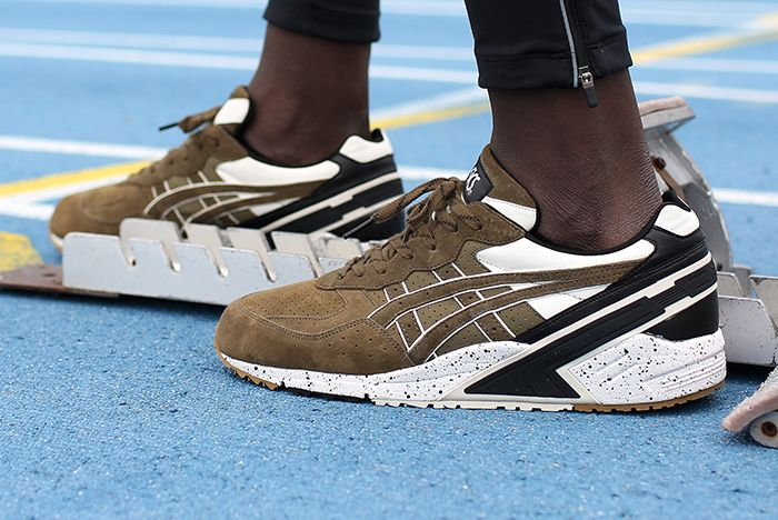 Monkey Time X Asics Gel Sight Olive Crown8