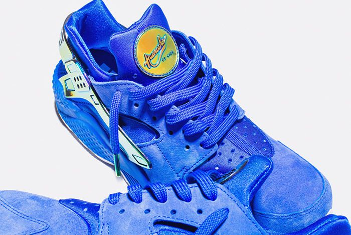 Undefeated Nike La Huarache Crenshaw Blue Gold 4
