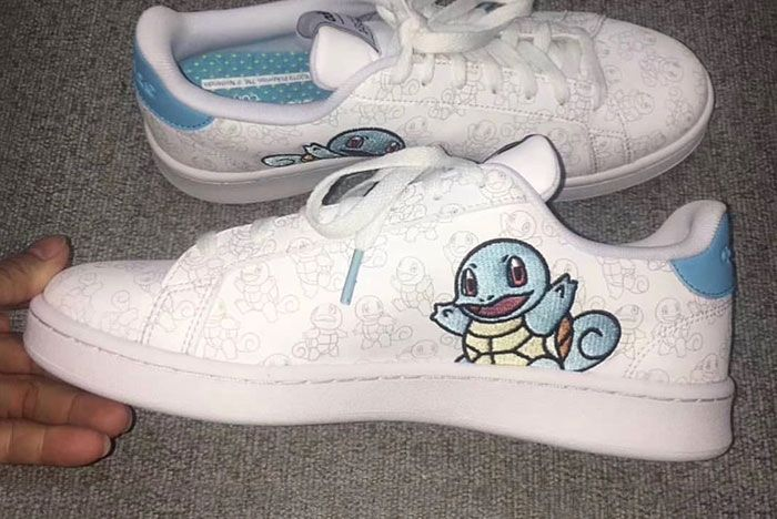 Pokemon Adidas Squirtle Release Date 01 Pair Side