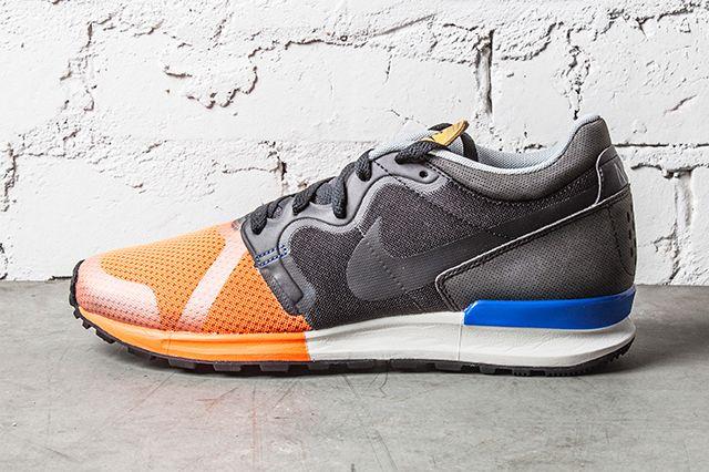 Nike Berwuda Mid Black Atomic Orange 1