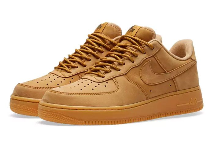Nike Air Force 1 Wheat Release