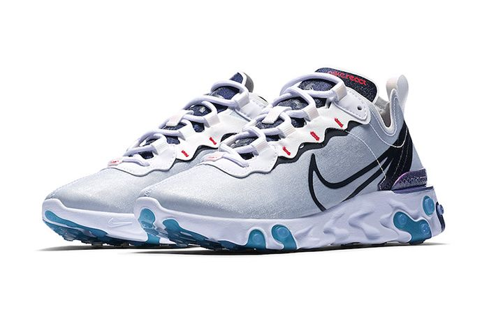 Nike React Element 55 Magpie Cn5798 101 Release Date Pair